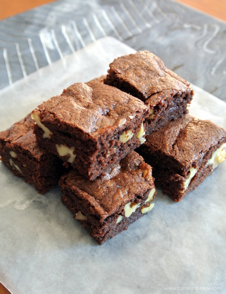Classic Brownies with Walnuts