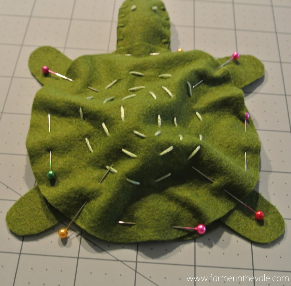 Felt Turtle - Pinning it all Together
