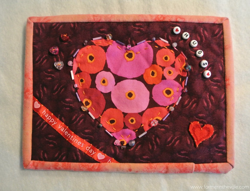 Valentines Day Mini Quilt