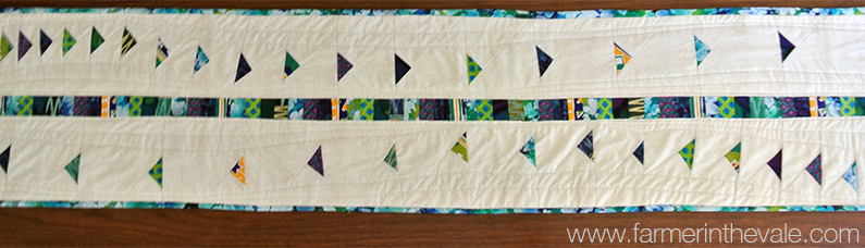 May Table Runner - Wandering Geese